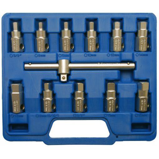 BGS technic 12 részes univerzális kulcskészlet olajleeresztő csavarokhoz (BGS 1017)