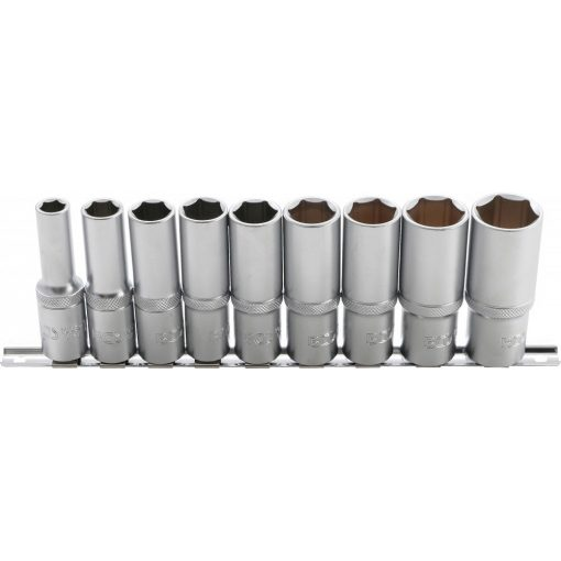 """BGS technic 9 részes hosszított dugókulcs készlet 10-24mm, 1/2"""" (BGS 2223)"""