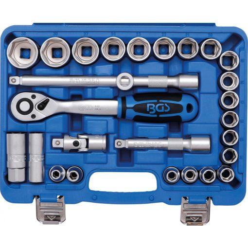 """BGS technic 27 részes dugókulcs készlet 1/2"""" 8-32mm (BGS 2224)"""