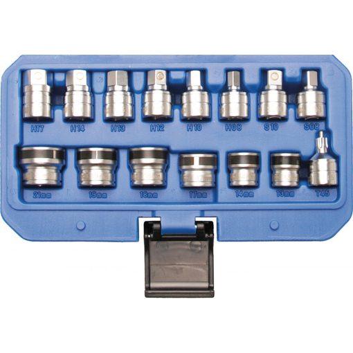 BGS technic 15 részes mágneses dugókulcsok olajleeresztő csavarokhoz (BGS 2256)