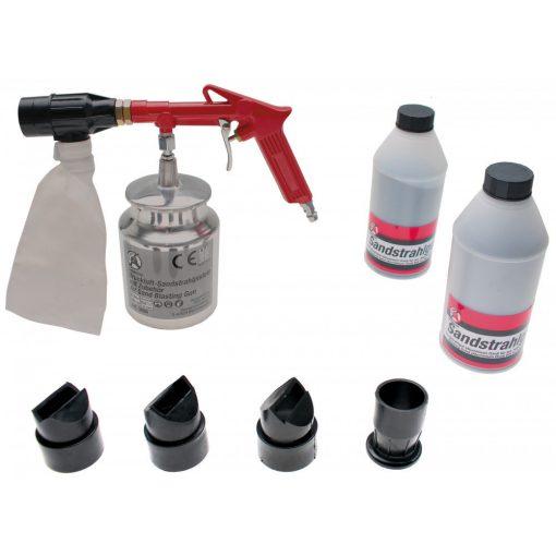 Kraftmann Homokcsiszoló pisztoly, kiegészítőkkel (BGS 3650)