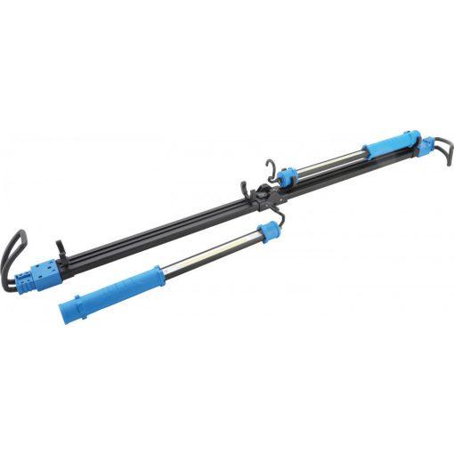 BGS technic Akkus COB LED-es motorháztetőre rögzíthető lámpa szett, feszítőszerkezetes tartóval | 2 COB LED-es kézi munkalámpa (BGS 85306)