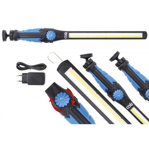 BGS technic COB-LED / UV kézi műhelylámpa   ultra lapos (BGS 9767)